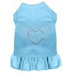 Angel Heart Rhinestone Dress Baby Blue XXL (18)