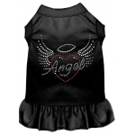 Angel Heart Rhinestone Dress Black XXL (18)
