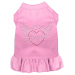 Angel Heart Rhinestone Dress Light Pink XXL (18)