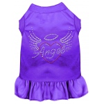 Angel Heart Rhinestone Dress Purple XXL (18)