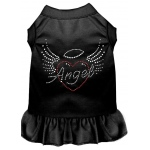 Angel Heart Rhinestone Dress Black XXXL (20)