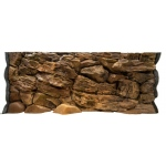 Jungle Bob Background for Aquarium: 30x18 Inch, 29 Gallon, Rock