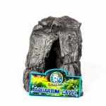 Jungle Bob Aquarium Cave: Small, Grey