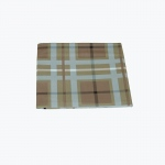 Carolina Pet Products VERSATILE LUXURIOUS THROW: Blue/Brown Plaid