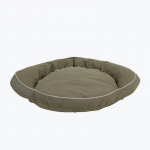 Carolina Pet Products CLASSIC COTTON CANVAS BOLSTER BED w/contrast cording: Sage