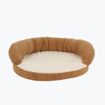 Carolina Pet Products ORTHO SLEEPER BOLSTER BED: Caramel
