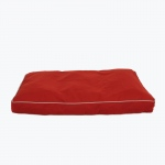 "Carolina Pet Products CLASSIC TWILL RECTANGLE ""JAMISON"": Red"