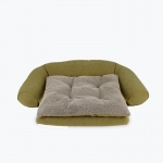 Carolina Pet Products ORTHO SLEEPER COMFORT COUCH® w/ REMOVABLE CUSHION: Sage