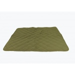 Carolina Pet Products DIAMOND QUILT MICROFIBER & CLOUD SHERPA THROW: Sage