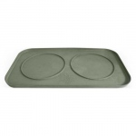 Pura Naturals Pet Feeding Tray, Large - Herb