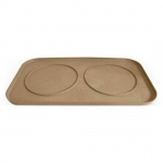 Pura Naturals Pet Feeding Tray, Large - Natural