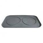 Pura Naturals Pet Feeding Tray, Large - Slate