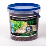 Jungle Bob Self Cleaning Aquarium Substrate: 1L, 2-4mm, Cappucino