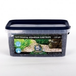 Jungle Bob Self Cleaning Aquarium Substrate: 3L, 2-4mm, Black