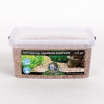 Jungle Bob Self Cleaning Aquarium Substrate: 3L, 2-4mm, Sahara
