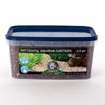 Jungle Bob Self Cleaning Aquarium Substrate: 3L, 2-4mm, Cappucino