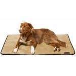Big Shrimpy Landing Pad - Medium/Walnut Suede