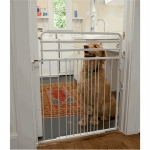 Cardinal Duragate Pet Gate - White