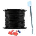 Essential Pet Products Essential Pet Heavy Duty Boundary Kit - 16 Gauge Wire/1000 Ft
