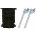 Essential Pet Products Essential Pet Heavy Duty In-ground Fence Wire And Flag Kit 1000 Feet
