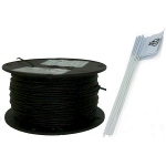 Essential Pet Products Essential Pet Heavy Duty In-ground Fence Wire And Flag Kit 500 Feet