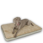 K & H Memory Sleeper Dog Bed - Small/Mocha