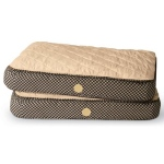 K & H Feather Top Ortho Bed - Small/Tan/Brown