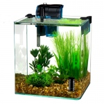 Penn Plax Vertex Desktop Aquarium Kit