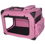 Pet Gear Generation II Deluxe Portable Soft Crate - Small/Pink