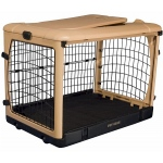 Pet Gear Deluxe Steel Dog Crate With Pad - Small