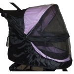 Pet Gear Weather Cover For No-Zip Happy Trails Pet Stroller - Black