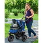 Pet Gear AT3 No-Zip Pet Stroller - Midnight River