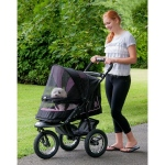 Pet Gear NV No-Zip Pet Stroller - Rose