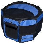 Pet Gear Travel Lite Soft-Sided Pet Pen - Small/Ocean Blue