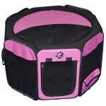 Pet Gear Travel Lite Soft-Sided Pet Pen - Small/Pink