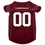 Pets First Arizona Cardinals Deluxe Dog Jersey - Large