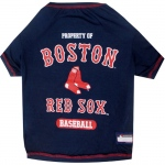 Pets First Boston Red Sox Dog Tee Shirt - Small
