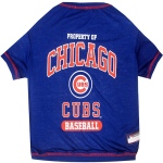 Pets First Chicago Cubs Dog Tee Shirt - Small