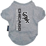 Pets First Chicago White Sox Dog Tee Shirt - Large