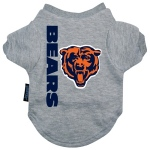 Pets First Chicago Bears Dog Tee Shirt - Large