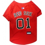 Pets First Boston Red Sox Dog Jersey - Small