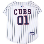 Pets First Chicago Cubs Dog Jersey - Large