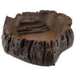 Jungle Bob Water Bowl: Large, Wood