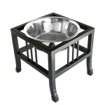 PetsStop Baron Heavy Duty Raised Dog Bowl - Large