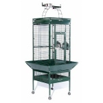 Prevue Hendryx Small Wrought Iron Select Bird Cage - Jade Green