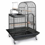 Prevue Hendryx Deluxe Parrot Dometop Cage with Playtop