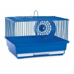 Prevue Hendryx Single Story Hamster Cage -  Blue