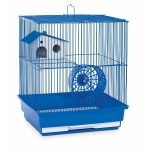 Prevue Hendryx Two Story Hamster & Gerbil Cage - Blue