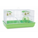Prevue Hendryx Deluxe Hamster & Gerbil Cage - Bordeaux Red