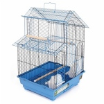 Prevue Hendryx House Style Bird Cage - Blue